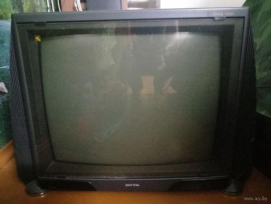 Телевизор Витязь с защитным стеклом