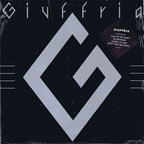LP Giuffria(ex-Angel) - Giuffria (1984) Hard Rock