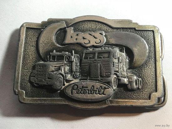 Пряжка для ремня латунь Tonkin Inc. 1978 Peterbilt США.