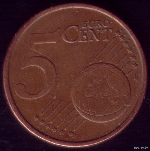 5 евроцентов 2002 год Италия