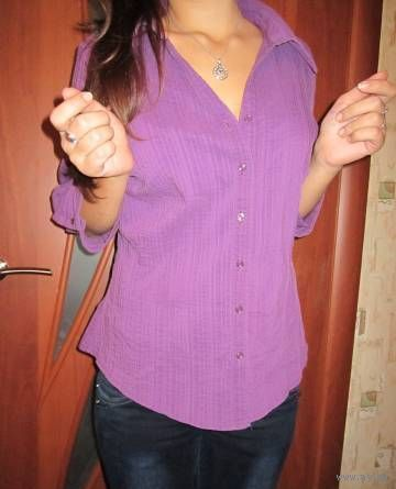 Моделька  Букле офисная блуза р.50