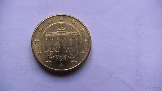Германия 10 евро центов 2002г. J  распродажа