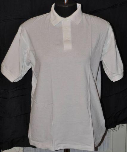 Рубашка поло с коротким рукавом (размер М, хлопок)