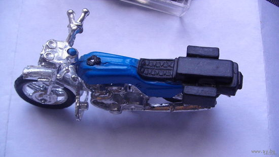 Мотоцыкл синий. распродажа