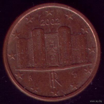 Италия 1 евроцент 2002г. распродажа