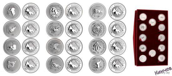 1 доллар 2005 г. Австралия-Лунар I-Год Петуха.