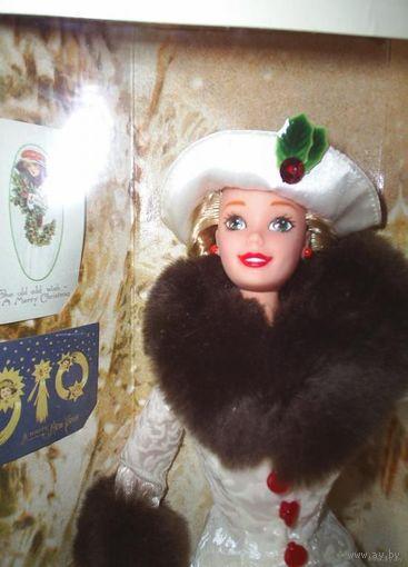 Кукла Барби/Barbie Holiday Memories фирмы Mattel, 1995 г, специальное издание Hallmark.