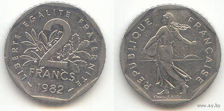 2 франка 1979г.  распродажа