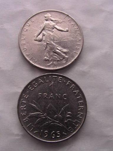 1 франк франции 1960г.  распродажа 1