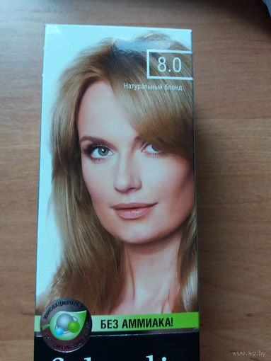 Стойкая крем-краска для волос от Фаберлик без аммиака тон натуральный блонд