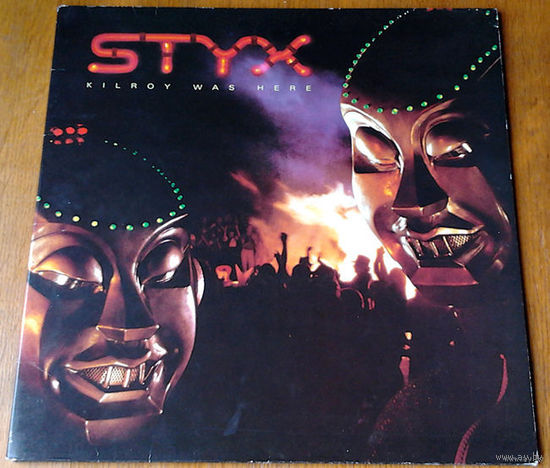 "Styx ""Kilroy Was Here"" LP, 1983"