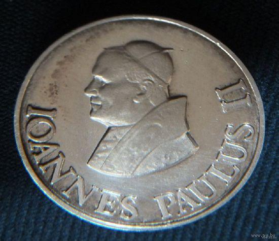 Медаль Иоанн Павел 2   серебро 999