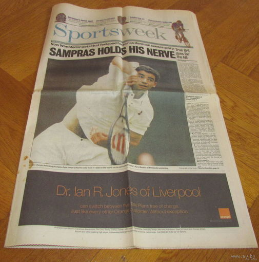 Sportsweek 1996 г.