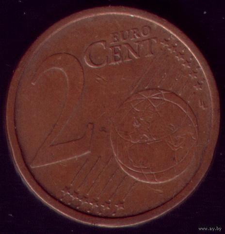 2 евроцента 2002 год Германия G