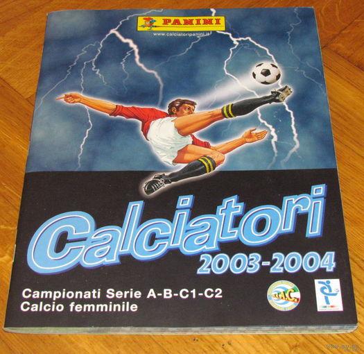 Кальчиотори 2003. Альбом наклеек