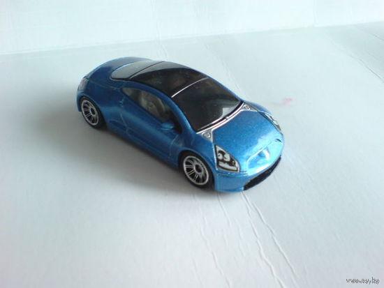 Mitsubishi Eklipse  1:60 МВ668  синий перламутр. металл  распродажа коллекции