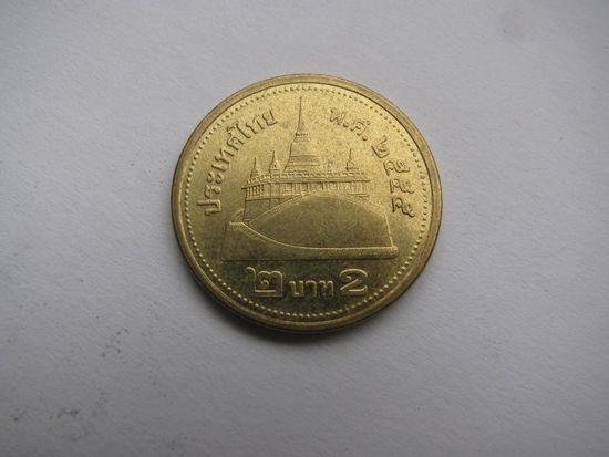 Таиланд 2 бата жёлтая
