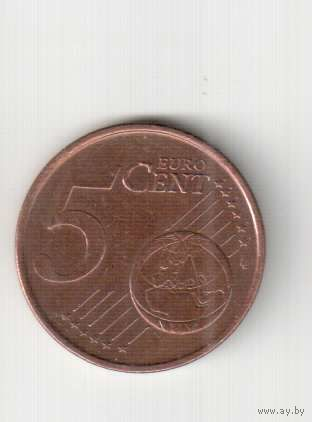 5 евроцентов 2002 года  Португалии