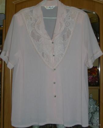 Шикарные блузы для статных дам, р-р 52-54-56