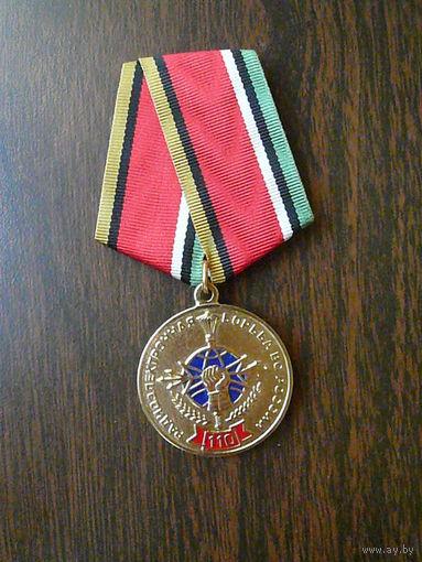 Медаль юбилейная. 110 лет войскам радиоэлектронной борьбы ВС РФ. РЭБ ПВО. Латунь.