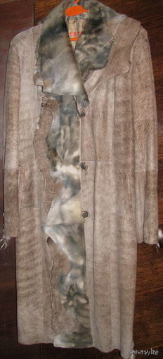 Пальто женское кожаное, М(48 р-р), Турция