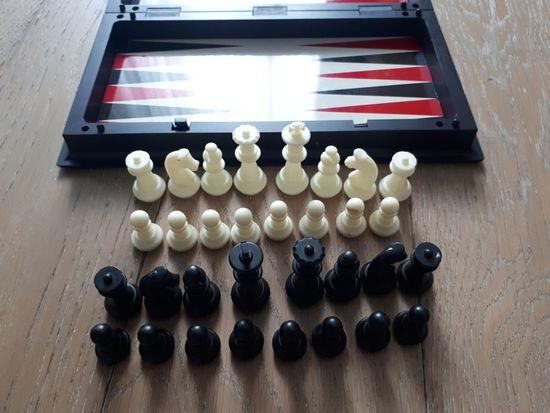 Советские шахматы на магнитах, дорожные.